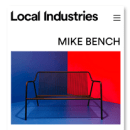 Local Industries. Um projeto de Design gráfico, Web design e Desenvolvimento Web de Atipus - 31.01.2017