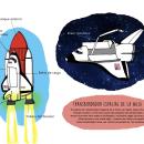 Transbordador Columbia. A Verlagsdesign und Illustration project by Luca Mendieta - 09.02.2017