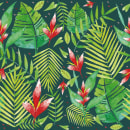 Tropical Leaves . A Design, Illustration und Malerei project by André Gijón - 12.02.2017