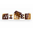 wired magazine. Un proyecto de 3D y Tipografía de Jenue - 12.02.2017