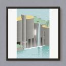 La Fábrica / Ricardo Bofill. Um projeto de Arquitetura, Design gráfico e Ilustração de Estudio Extramuros - 16.02.2017