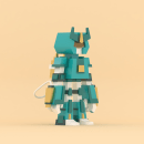 Diseño de Robot 3D. Un proyecto de Ilustración, 3D y Diseño de personajes de Francisco Vargas - 18.02.2017