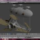 Barco volador. Un proyecto de 3D de Arkalion Shobic - 21.02.2017