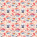 Sushi Patterns. A Illustration, Grafikdesign und Malerei project by André Gijón - 23.02.2017