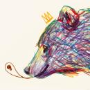 Animales en crayon :) . Um projeto de Ilustração de Juan Pablo Elias - 08.03.2017