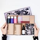 Marbling Kit. Un proyecto de Diseño, Artesanía y Packaging de Fábrica de Texturas - 22.03.2017