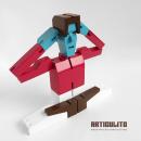 ARTICULITO. Un proyecto de 3D, Diseño de personajes, Diseño de juegos, Diseño industrial y Diseño de juguetes de bastianbestia - 29.03.2017