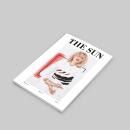 The Sun:  Introducción al Diseño Editorial. Um projeto de Design editorial de Manuela Vásquez - 01.04.2017