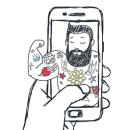 """Diseño de la infografía """"Mobile Love"""".. Um projeto de Ilustração, Design gráfico, Arquitetura da informação, Design de informação e Infografia de Se ha ido ya mamá - 03.02.2017"""