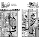 Despedida en un acto.. A Comic project by Felipe H. Navarro - 01.03.2017