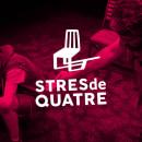 Stres de quatre. Um projeto de Br, ing e Identidade, Design gráfico e Marketing de swing estudio - 01.01.2017