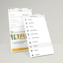 People Who. App and responsive website. Um projeto de UI / UX, Design gráfico e Web design de Ulyana Kravets - 06.04.2017