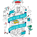 SURLAT, Amamos lo que hacemos!. Un projet de Animation, Direction artistique , et Character Design de Felipe Zavala Muñoz - 25.04.2017