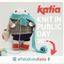 Félix, the happy knitter. Un proyecto de Diseño de personajes y Fotografía de Maria Sommer - 03.05.2017