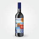 Barcelona Red Wine. Um projeto de Design gráfico, Ilustração vetorial e Packaging de Elia Moliner - 27.07.2016