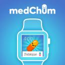 medChum App Concept. Um projeto de Ilustração, UI / UX, Br, ing e Identidade e Design interativo de Jimena Catalina Gayo - 01.09.2015