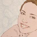 Ella siempre sonreía. Um projeto de Ilustração de Judith González - 02.06.2017