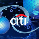 Citi Bank Digitalplacemat Animation. A 3-D, Animation und Motion Graphics project by Alejandro Magnieto Benlliure - 14.06.2017