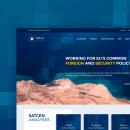 SatCen - European Union Satellite Centre. Um projeto de Direção de arte, Design interativo e Web design de Jimena Catalina Gayo - 01.05.2017
