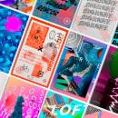 Random Poster Serie. Un progetto di Design, Direzione artistica, Progettazione editoriale , e Tipografia di Gerson Cabrera - 21.11.2016