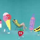 Monologueando Summer Hit. A Design, Illustration, Musik und Audio, Fotografie, 3-D, Animation, Kunstleitung, Grafikdesign, Verpackung, Webdesign, Webentwicklung, Video, Stop Motion, Social Media, Animation von Figuren und Vektorillustration project by THIS is UMAMI - 13.06.2017