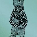 BEAR LOVE. Um projeto de Design, Ilustração e Ilustração vetorial de Beatriz Segovia Martín - 23.06.2017