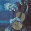El guitarrista ciego de Picasso (paso. Um projeto de Artes plásticas e Ilustração de Adrián Iglesias - 29.06.2017