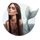 Mer-may 2017. Un proyecto de Diseño, Ilustración, Diseño de personajes, Diseño gráfico y Pintura de Ale Michel - 05.07.2017