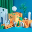 Montevideo (MVD). Um projeto de Design, 3D, Direção de arte, Design gráfico e Retoque fotográfico de Felipe García - 27.06.2017