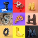 36Daysoftype short version.. Un proyecto de 3D, Dirección de arte y Diseño gráfico de Gonçalo Soares - 10.07.2017