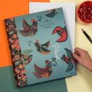 Carpetas. Un proyecto de Pattern Design e Ilustración de Laura Varsky - 13.07.2017
