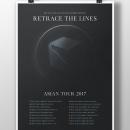 Retrace The Lines Asian Tour 2017. A Grafikdesign project by Alejandro Magnieto Benlliure - 14.07.2017
