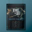 Retrace The Lines Spanish Tour 2017. A Grafikdesign project by Alejandro Magnieto Benlliure - 14.07.2017
