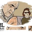 Viejo.. Un proyecto de Diseño, Diseño de personajes, Cómic e Ilustración vectorial de Sebastian Blandon Lopez - 14.07.2017