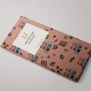"""Mi proyecto del curso """"motivos para repetir"""" chocolate Mast Brothers . Un progetto di Graphic Design, Illustrazione , e Packaging di inmaculada fernandez - 15.07.2017"""