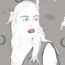 Diseño estampado textil pioneras del deporte femenino . Un progetto di Design, Illustrazione, Costume Design, Moda , e Graphic Design di inmaculada fernandez - 18.07.2017