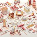 Bogotá Lovers. Un proyecto de Ilustración, 3D, Animación y Dirección de arte de Daniel Cantor - 25.07.2017