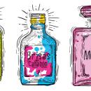 Aromas que se extiguen. A Graphic Design & Illustration project by Carlos chong - 07.26.2017