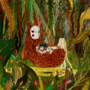 The Wild Child. Um projeto de Design, Ilustração, Direção de arte, Design de personagens, Artesanato, Artes plásticas e Pintura de Umera Mera - 31.07.2017