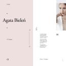 Agata Bielen (freebie). A Art Direction, Graphic Design, Interactive Design, and Web Design project by Adrián Somoza - 08.08.2017