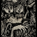 La Cripta IV Canibalismo (fanzine). Um projeto de Ilustração de Isaac López Virgili (Isac Demons) - 15.02.2017