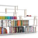 SISTEMA DE ALMACENAJE PICAS. Un proyecto de Diseño, Diseño de muebles y Diseño industrial de IVÁN CASAÑ PERIS - 30.08.2017