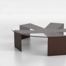 MESA AUXILIAR AXTERISKO. Un proyecto de Diseño de muebles, Diseño industrial y Diseño de producto de IVÁN CASAÑ PERIS - 30.08.2017