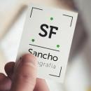 Branding Sancho Fotografía. Un proyecto de Fotografía, Br, ing e Identidad y Diseño gráfico de Carlos Juan Vera Clemente - 31.08.2017
