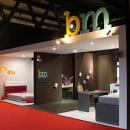 Stand Fiera Milano_ bm plural & singular. A Design, Art Direction, Furniture Design, Interior Architecture, Interior Design, and Lighting Design project by Sandra Macías - 04.04.2013