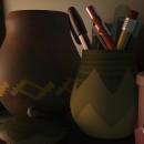 Modeling objects on a shelf.. Un proyecto de Diseño, Cine, vídeo, televisión, 3D, Animación, Dirección de arte, Diseño de personajes, Arquitectura interior, Vídeo y Televisión de Israel Audelo Ruiz - 23.09.2017