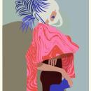 Marbled Jersey. Un proyecto de Ilustración, Moda e Ilustración vectorial de Azucena González Ruiz - 05.11.2017
