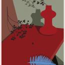 ROJO OCTUBRE. Un proyecto de Ilustración e Ilustración vectorial de Azucena González Ruiz - 15.11.2017