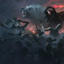Jon Snow with Azor Ahai Sword. Un proyecto de Ilustración de Guillem H. Pongiluppi - 01.05.2017