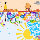 Summer is a state of mind. Un progetto di Illustrazione vettoriale di Laura Colored - 09.09.2017